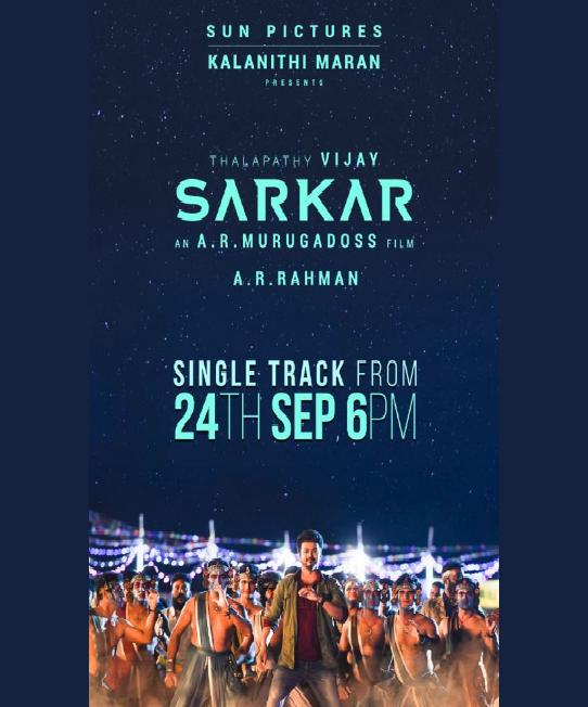 Sarkar First Single Announcement