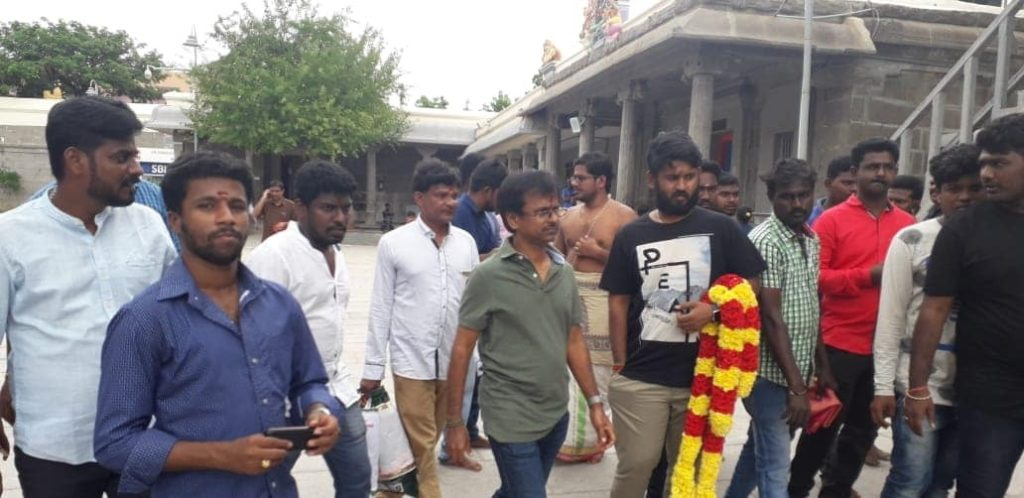 A.R.Murugadoss in Kamatchi Temple