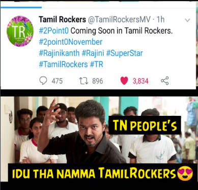 Tamilrockers 2PointO Challenge