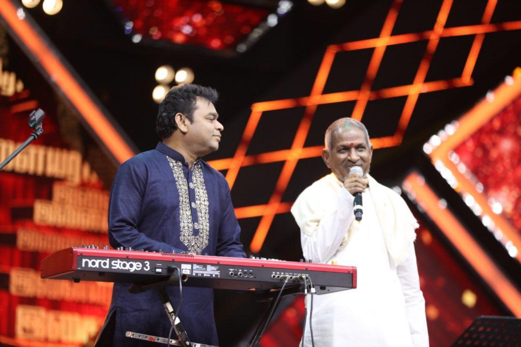 A.R.Rahman, Ilaiyaraja