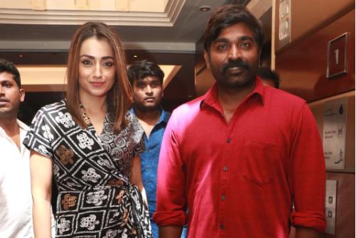 Vijay sethupathy, Trisha
