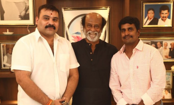 Kannan with Rajinikanth