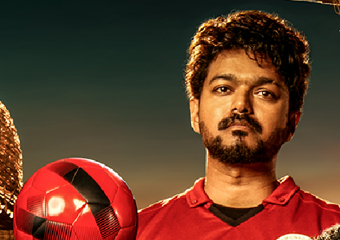 Bigil Foot Ball Coach Vijay