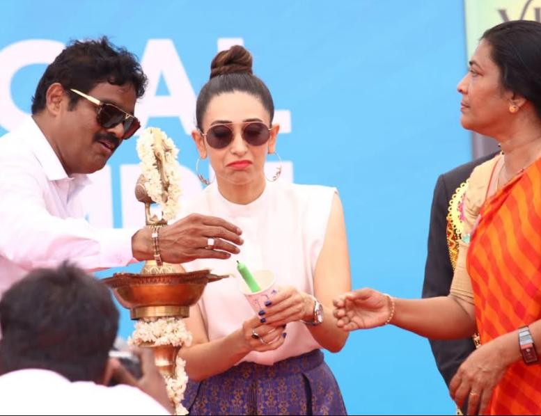 Karishma Kapoor with RK