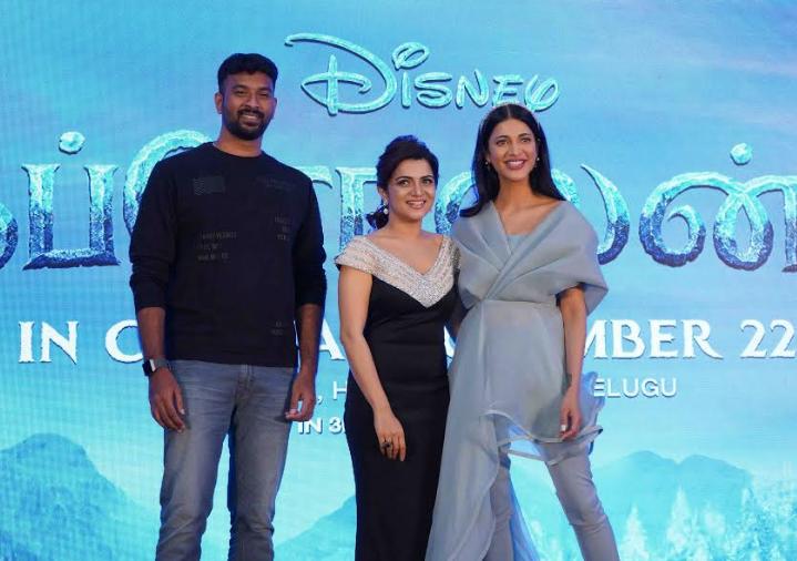 Frozen 2 Tamil Team