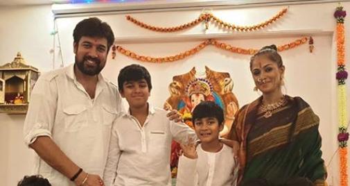 Simran Family Photo