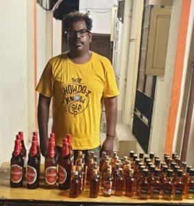 Draupathi artist arrested