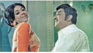 Vanisri with Sivaji Ganesan in Vasantha Maligai