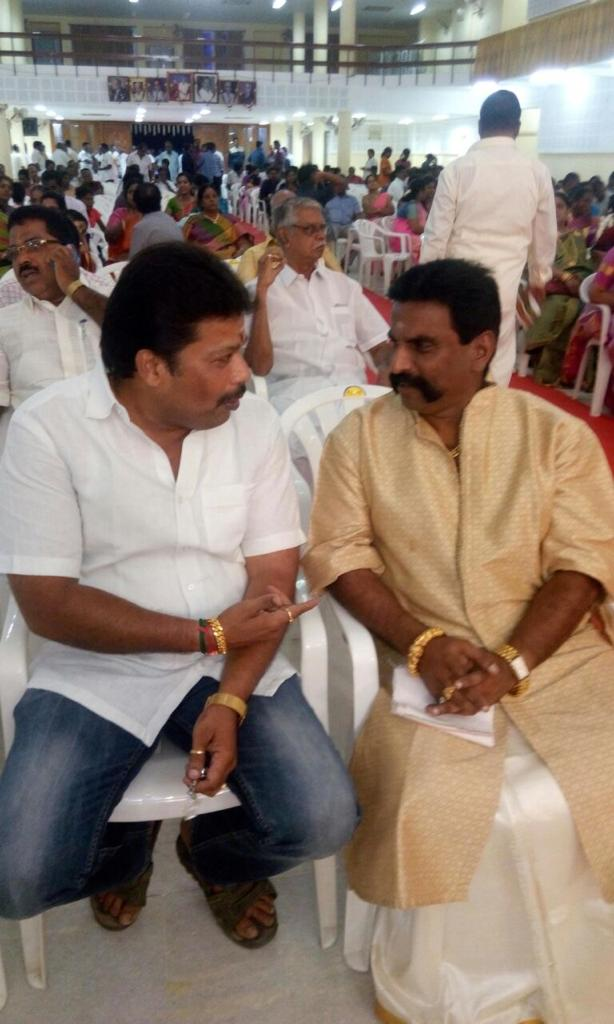 T T V Dhinakaran daughter wedding engagement function