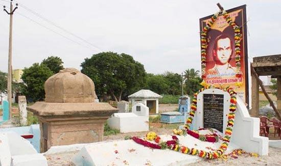 Tomb of MK Thiyagaraja baghavathar